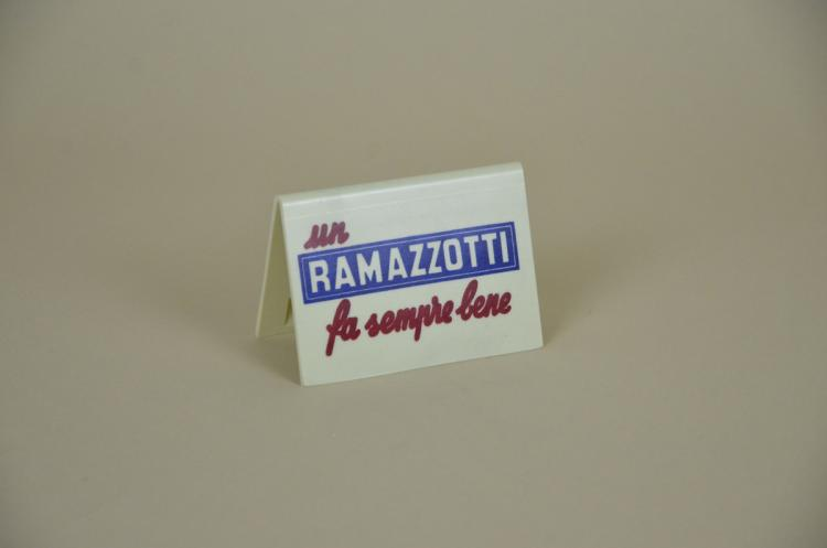 1970s-Advertising-Vintage-Italian-Ramazzotti-Plastic-Place-Card-Holder