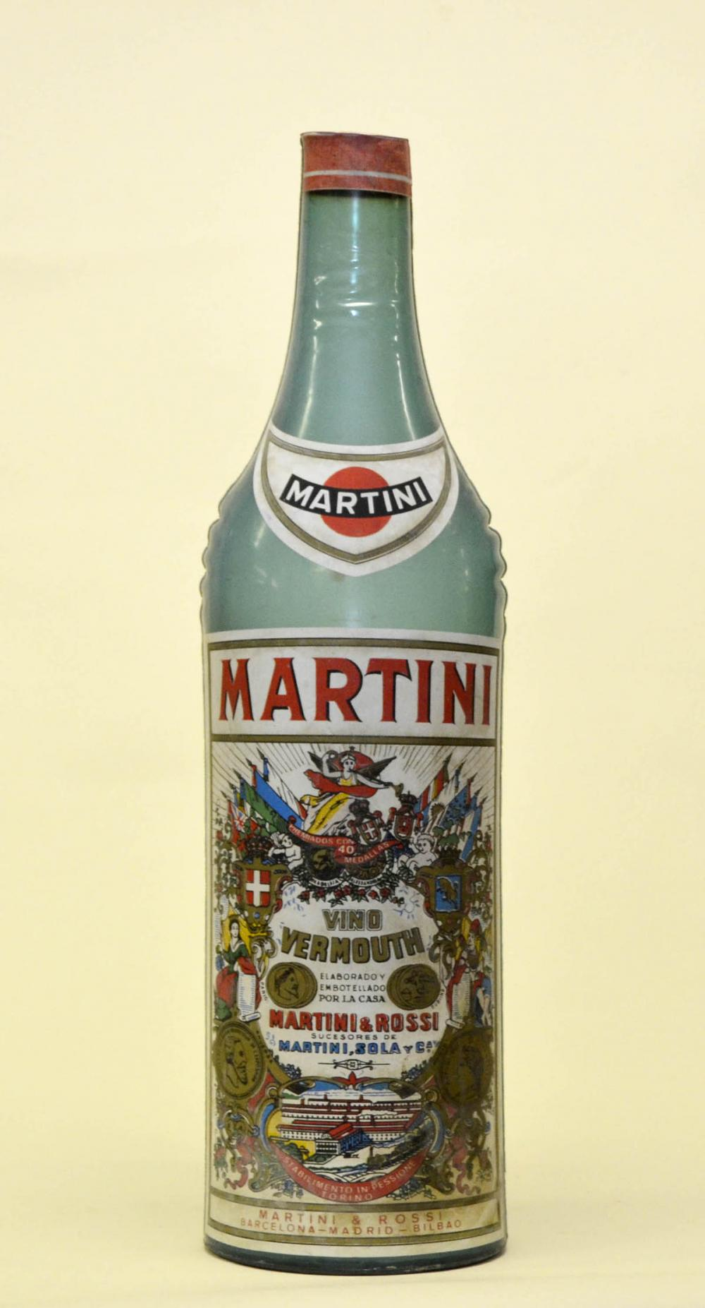 1970s_Spanish_Inflatable MartiniRossi_PromotionPlasticBottle