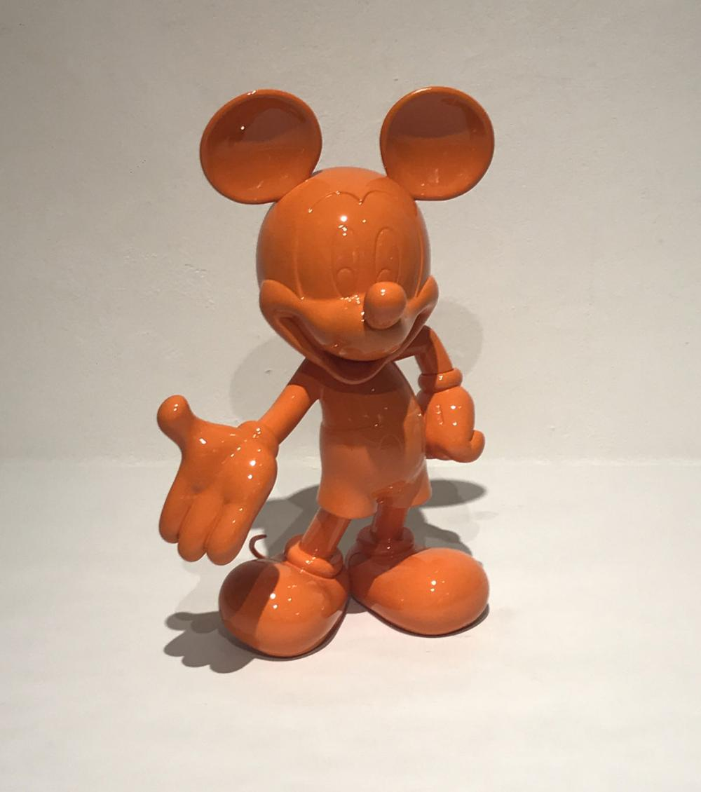 mickey mouse orange walt disney